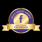 WEGO Health Award Nominee
