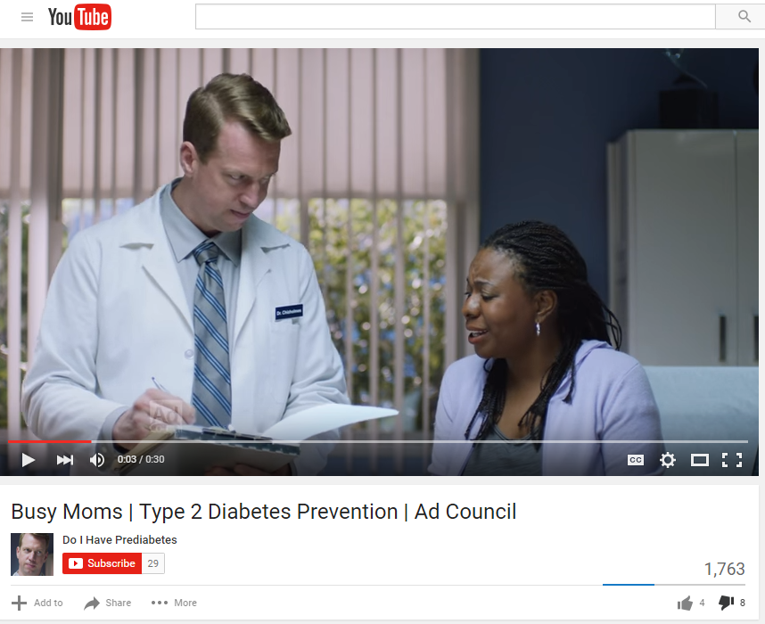 Prediabetes? Ain't nobody got time for that!