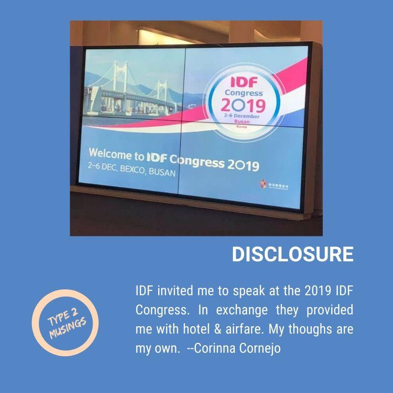2019 IDF Congress in Busan, South Korea