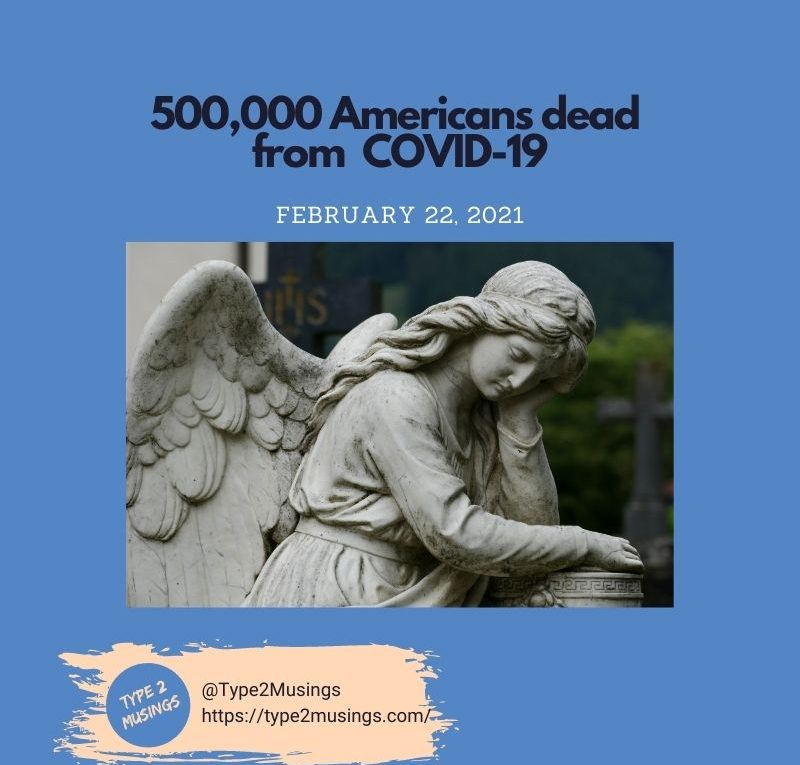 500,000 people dead due to COVID-29